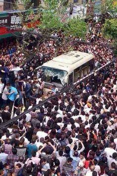 3/13/15 Thousands REVOLT In China Against Police Brutality. Cops Beat Woman In…
