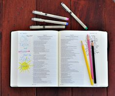 If you want to start daily Bible journaling, you need two simple tools: a journaling Bible and archival quality pens. There are a number of ways to journal.