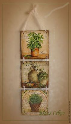 do something like this with my sheep pics for display? Decoupage Wood, Decoupage Vintage, Decoupage Furniture, Tole Painting, Painting On Wood, Wood Crafts, Diy And Crafts, Country Paintings, Wood Art