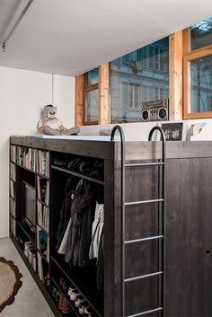 Muebles con diseño para departamentos súper pequeños | Vagabundos MX