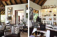 Yvonne O'Brien Interior Design Londolozi tree camp Moroccan Table, Hawaii Homes, Tribal Decor, Interior Decorating, Interior Design, Hotel Decor, Home Living Room, House Design, African Safari