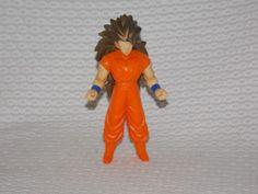 DragonBall Z Super Saiyan 3 Perfect Goku Figure RARE Bandai First Shot Prototype #Bandai