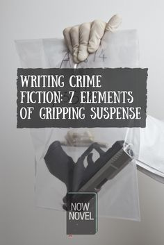 Writing crime fiction requires a knack for writing elements of crime fiction such as drama and tension. Learn how to write suspenseful crime fiction. Fiction Non-fiction audiobooks magazines literature