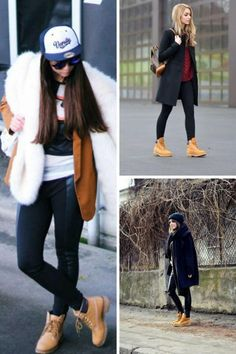 cd7e80ae2 26 Best How to Wear Timberlands images | Woman fashion, Accessories ...