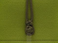green felt #mini #clutch #bag with olive green paracord by #FMLdesign