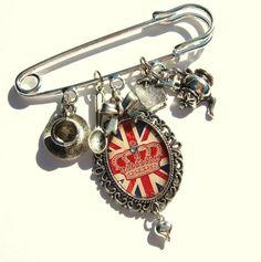 Union Jack Brooch Union Jack Jewelry Union Jack Jewellery UK British Flag