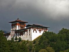 "Jakar, Bhutan - also known as ""little Switzerland"" 