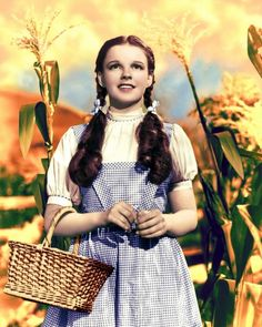 Judy Garland's Dorothy Gale costume from 'The Wizard of Oz', designed by Adrian, 1939