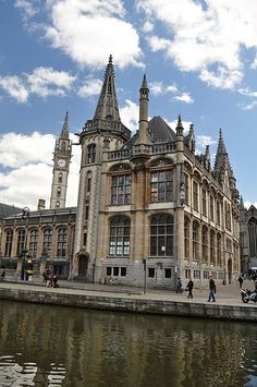 Old Post Office ~ Ghent, Belgium