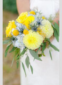 Bouquet de noiva amarelo. #casamento #bouquetdenoiva #ramodenoiva #flores #amarelo