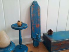 Unique Hand Painted Distressed Wood Vintage by BellBeCreations, $12.00