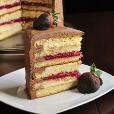 Rock Recipes -The Best Food & Photos from my St. John's, Newfoundland Kitchen.: Too Tall Neapolitan Cake
