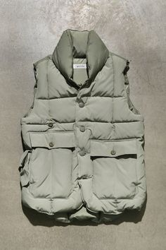 SPECTATOR 153-004[LODGE PUFFER VEST]-retro