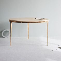 Bronze Table by Barbera Design.