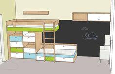Kid bedroom draft