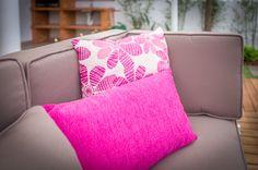 Têxteis | Textiles | Almofadas | Cushions | Pillows | Pink | Flower Prints