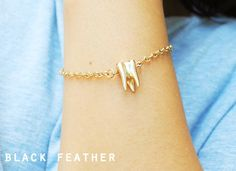 Gold Tooth Bracelet - Sweet Tooth.
