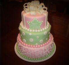 Ivy leaf cake