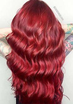 100 Badass Red Hair Colors: Auburn, Cherry, Copper, Burgundy Hair Shades | Fashionisers