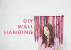 DIY WALL HANGING //