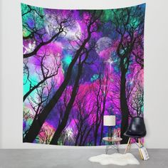 Buy Magical forest Wall Tapestry by Augustinet. Worldwide shipping available at Society6.com. Just one of millions of high quality products available.