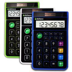 8 Digit Hybrid Desk Calculator