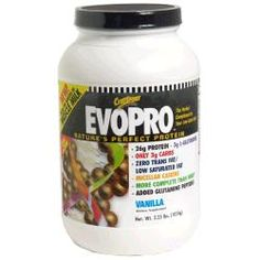 EvoPro was formulated by the ultimate protein designer, nature, to be maximally anabolic and anti-catabolic.