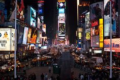 Bucket list: celebrate New Year's Eve in Time Square, NY. Obviously.