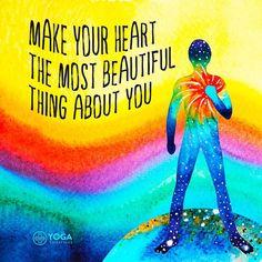 For a beautiful heart. A beautiful soul. A beautiful yogi
