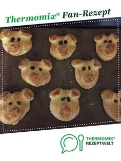 Lucky pig for New Year& Eve (lucky pig) - Lucky pig for New Year& Eve (lucky pigs) byenken A Thermomix ® recipe from the category baki - Saint Sylvestre, Keto Recipes, Dessert Recipes, Cream Pasta, Ham And Eggs, Keto Drink, Keto Diet For Beginners, Keto Meal Plan, Evening Meals