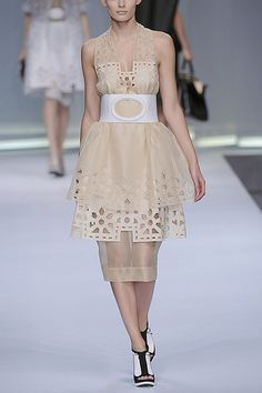 fendi cutout halter dress by carbonated Halter Maxi Dresses, Fendi, Nice Dresses, Ballet Skirt, Skirts, Fashion, Moda, Cute Dresses, Skirt
