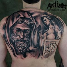 Wow! #jesus #saintmichael #ink