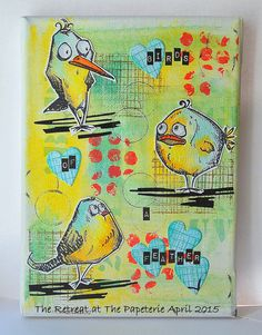 Kath's Blog......diary of the everyday life of a crafter: Crazy Birds...