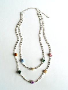 DIY Anthro Geological Spectrum Necklace : DIY Jewelry DIY Necklace