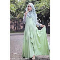 Hijab Style by Siti Juwariyah Hijab Chic ❤ liked on Polyvore