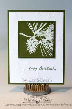 Week 6 - 12 weeks of ChristmasOrnamental Pine