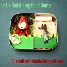 Little red riding hood bento #readforschool