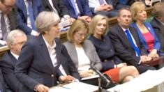 Theresa May Brexit day House of Commons