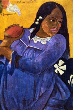 Paul Gauguin Wife | in 1888 he spent nine weeks painting with van gogh in arles it was ...