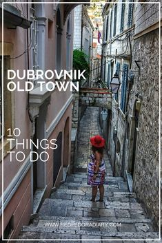 Planning a visit to Dubrovnik, Croatia? Then read this guide to know some of the best things to do in Dubrovnik's Old Town via @redfedoradiary