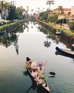 P I N T E R E S T @melodye10✨ http://www.pinterest.com/melodye10/ Venice Canal in CA
