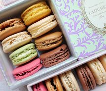 La Duree macarons.  These might be the best thing I have EVER eaten.