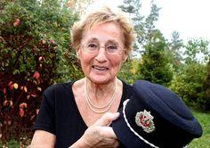 STÅR PÅ: Allerede passert de første 80 årene av sitt liv, men Elisabeth Sveri er fortsatt politisk aktiv. FOTO: TRINE JØDAL