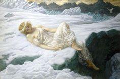 Heart of the Snow, 1895. Artist: Edward Robert Hughes