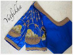 Best Blouse Designs, Blouse Neck Designs, Indian Baby Showers, Maggam Work Designs, Pattu Saree Blouse Designs, Hand Work Blouse Design, Indian Gowns Dresses, Designer Blouse Patterns, Wedding Designs