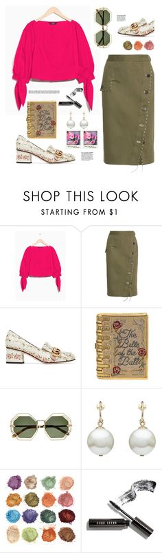 """""""Beauty and the Beast"""" by hamaly ❤ liked on Polyvore featuring Altuzarra, Judith Leiber, Simone Rocha, Bobbi Brown Cosmetics, outfit, ootd and bags"""