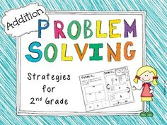 $ Second Grade Addition Problem Solving {Differentiated} Part/Part/Whole & Base Ten Models