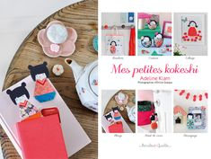 from Mes Petit Kokeshi by Adeline Klam via Griottes.fr blog