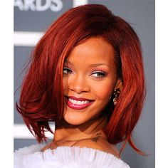 We love this shoulder-grazing bob Rihanna had back in 2011. For more hair like this click the picture or visit RedOnline.co.uk