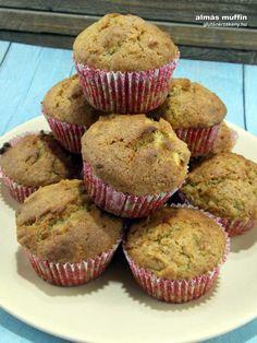 muffin - almás gluténmentes sütemény Muffin, Breakfast, Food, Morning Coffee, Essen, Muffins, Meals, Cupcakes, Yemek